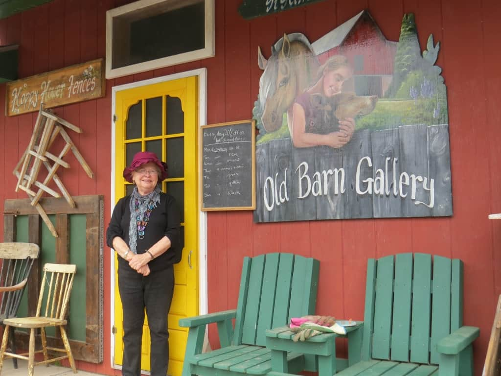 Carol Rivoire, Old Barn Gallery & Boutique