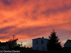 Louisbourg sunset