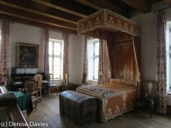 Governor's Bedroom Fortress of Louisbourg