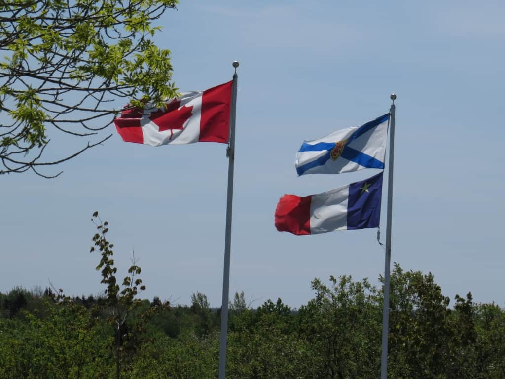 Flags - Canadian, Nova Scotia, Acadian