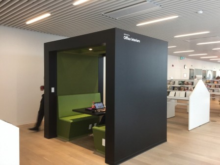 Halifax library Study Pods
