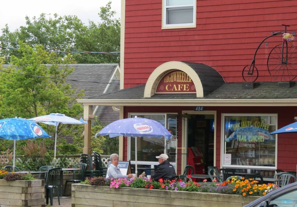 Highwheeler Cafe, Baddeck