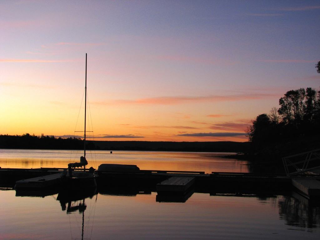 Guysborough Docks Sunrise