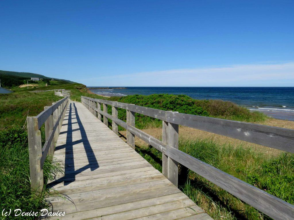 Inverness Beach Boardwalk