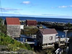 Blue Rocks fishing shacks