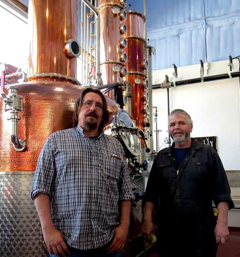 Thomas Steinhart and copper stillstill