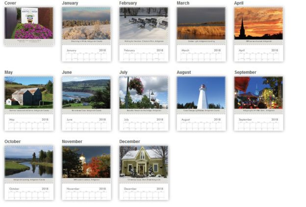 Antigonish Town and County Calendar 2018