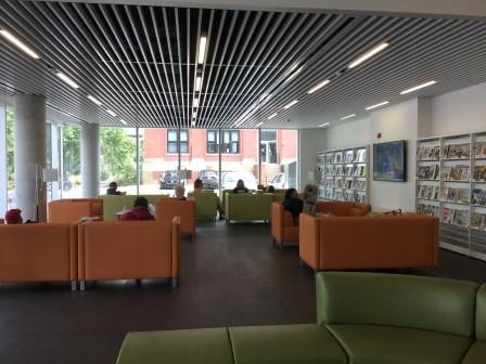 Halifax library 1st Floor Magazines