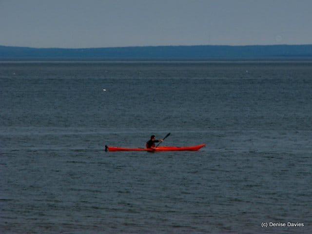 Paddler Mahoneys Beach 2725