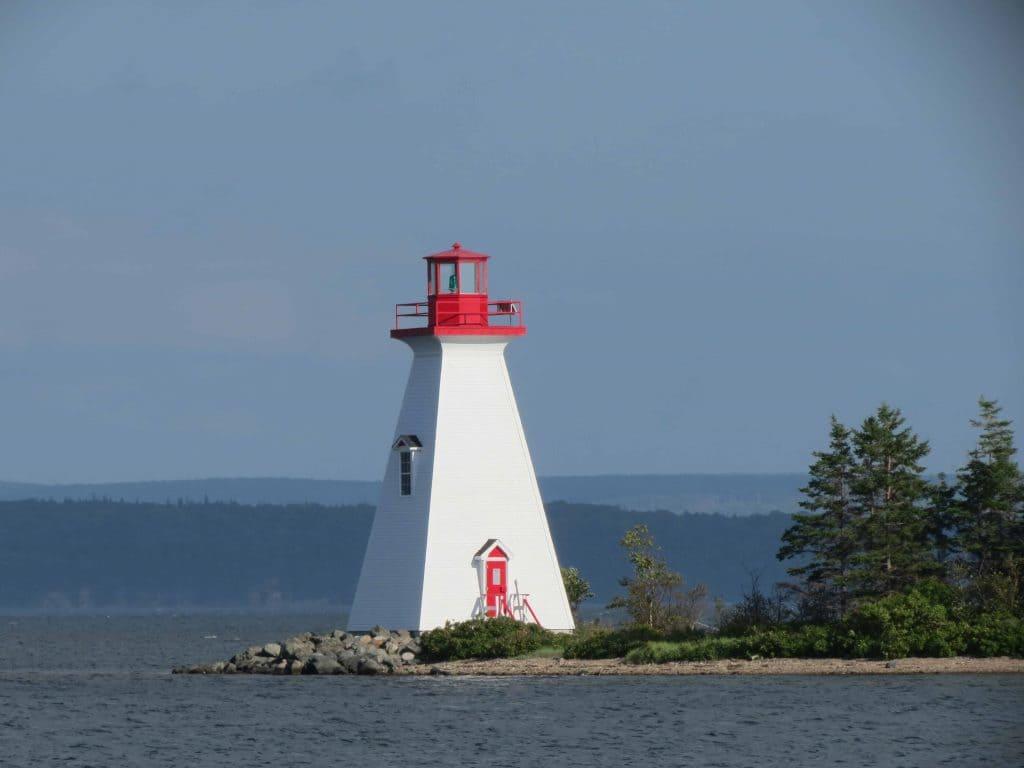 Kidston Island Lighthouse. Baddeck