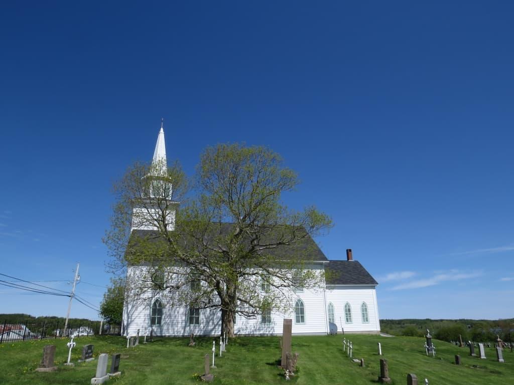 L'Eglise Ste. Croix, Pomquet
