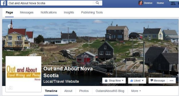 Out and About Nova Scotia Facebook Page - LIKE