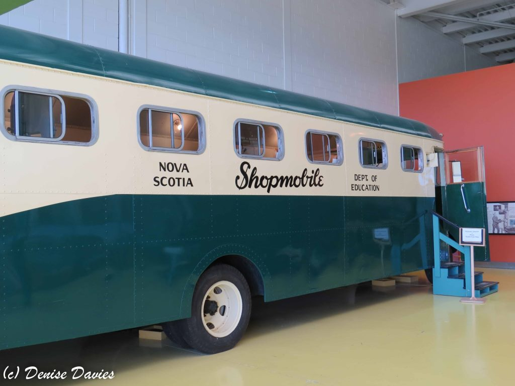 Shopmobile. Industrial arts bus that went to schools.