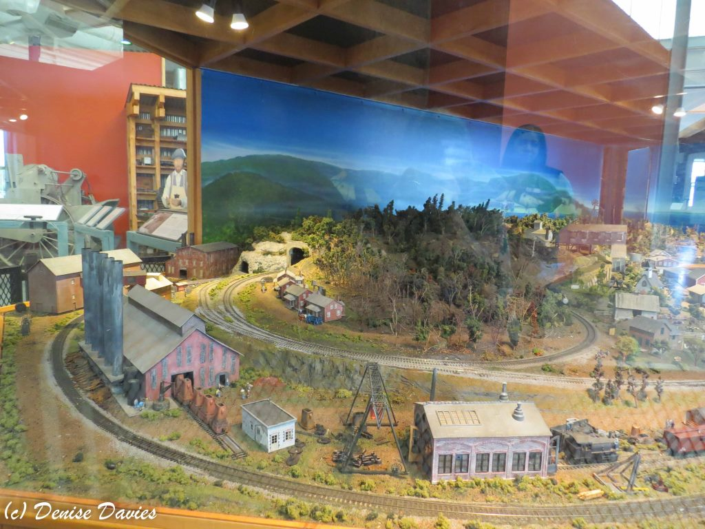 Model Train with steel and coal